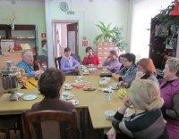 Встреча в книжном клубе «Зеленая лампа».